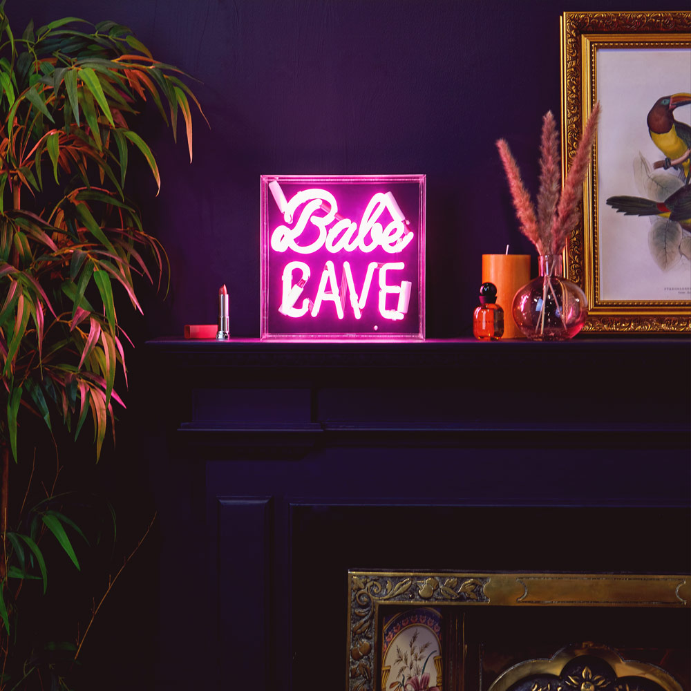 Babe Cave Neon Wall Light
