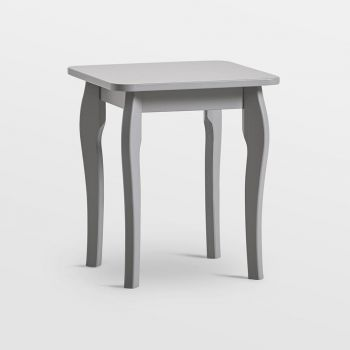 Grey Dressing Table Stool
