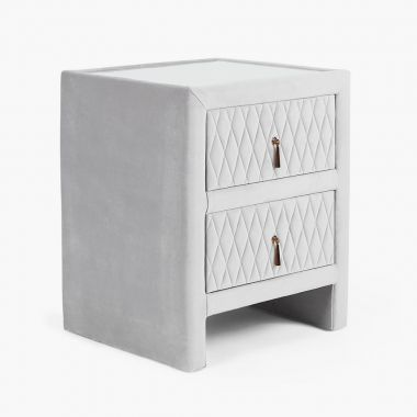 Quilted Bedside Table