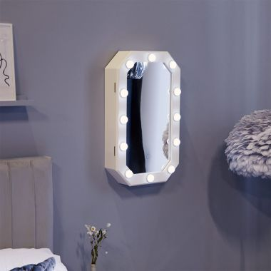 LED Hollywood Storage Mirror