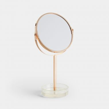 Glitter Base Makeup Mirror