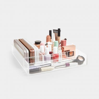 Customisable Acrylic Makeup Storage