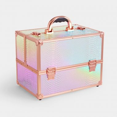 Large Holographic Makeup Case