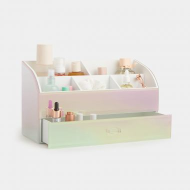 Holographic Makeup Organiser
