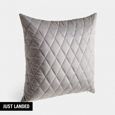 Quilted Velvet Cushion