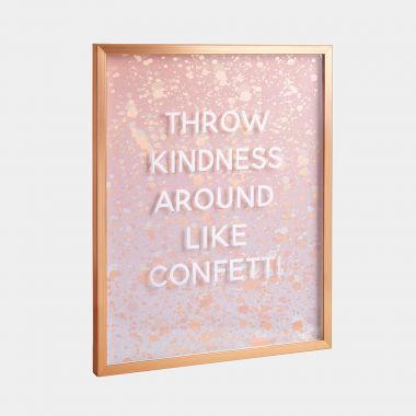 Kindness Confetti Wall Art