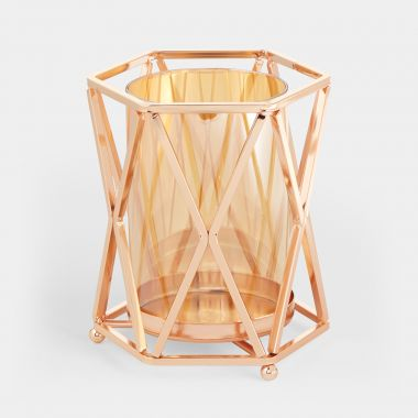 Rose Gold Tealight Holder
