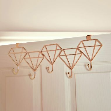 Diamond Shaped Door Hooks