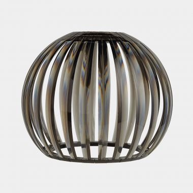 Smoked Grey Acrylic Ceiling Light