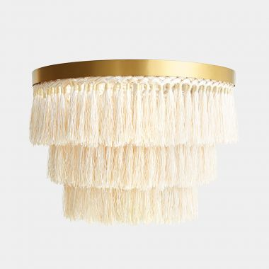 Fringing Ceiling Light