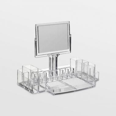 Makeup Organiser with Mirror