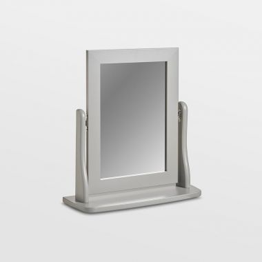 Grey Table Top Mirror