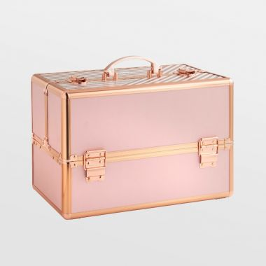 Large Blush Pink Makeup Case