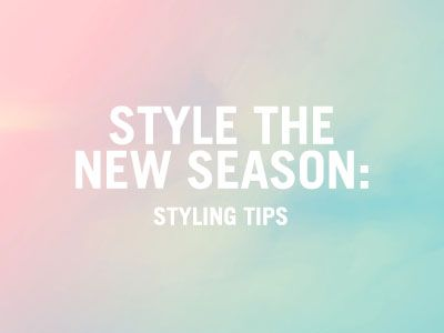 Style the new season